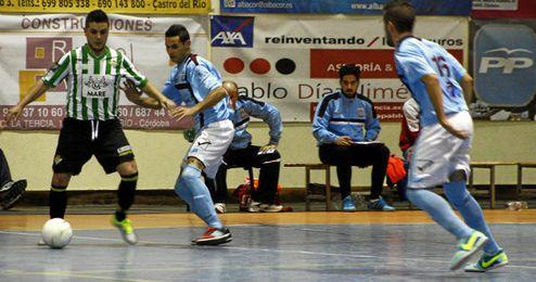 Imagen del encuentro disputado en Castro del Río (Córdoba).