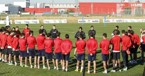 Emery comenzará a preparar el partido frente al Rijeka.