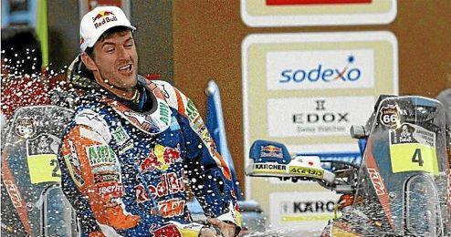 Última etapa del Rally Dakar 2014.