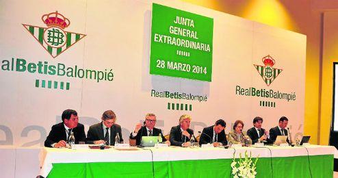 La junta general ordinaria del Betis se celebrará este tarde en primera convocatoria sobre las 20:00 horas.