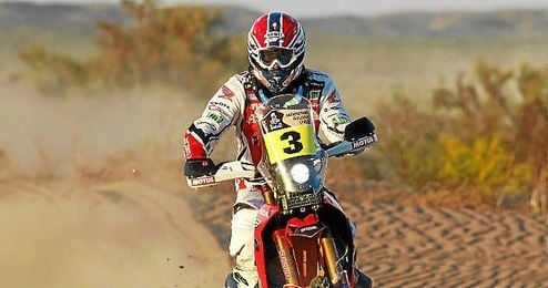 El piloto valenciano participará en su quinto Dakar.