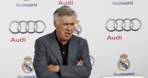 Carlo Ancelotti no sabe qué rival elegiría entre los posibles para octavos de Champions.