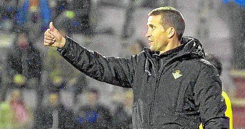Con el 0-1 conseguido en el Anxo Carro, Merino sumó su tercer triunfo consecutivo en Liga.