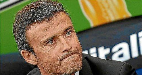 Luis Enrique, entrenador del FC Barcelona.