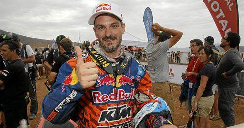Jordi Viladoms tratará de ganar este año la prueba de motos del Dakar