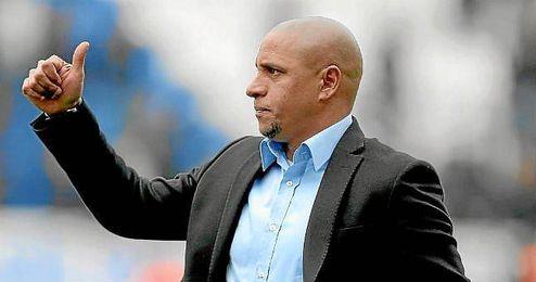 Roberto Carlos, durante su etapa como entrenador del Sivasspor.