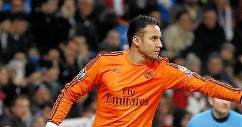 La buena temporada firmada en la 13/14 con el Levante le valió al guardameta para fichar por el Real Madrid.