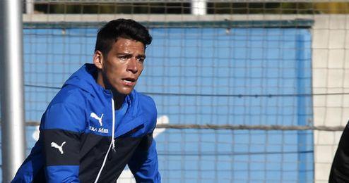 Héctor Moreno ha sido una de las bajas del primer entrenamiento tras las vacaciones.