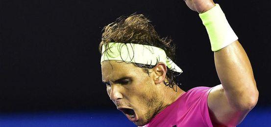 Nadal sufrió de inicio pero acabó ganando.