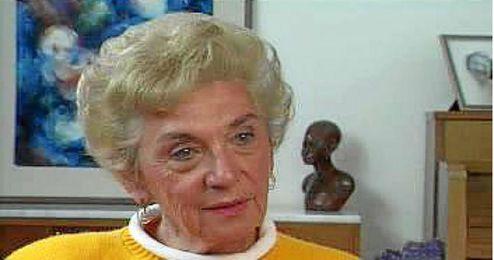 Celina Biniaz, superviviente del holocausto.