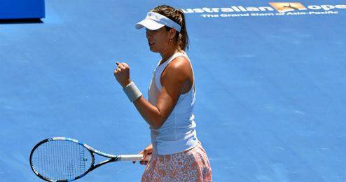 Muguruza es una de las promesas del tenis español