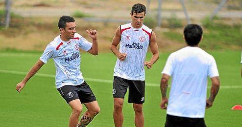 Aspas y Juan Muñoz, la novedad en la lista de Emery.