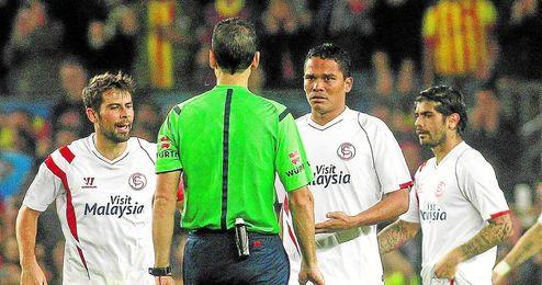 Martínez Munuera tendrá un difícil papel en el Sevilla-Barça.