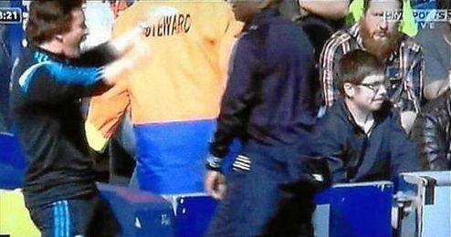 Ocurrió en el derbi londinense ante el QPR.