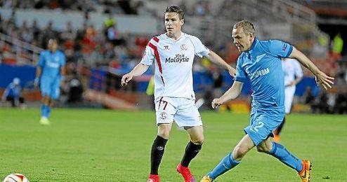 El Zenit ya piensa en la vuelta ante el Sevilla.