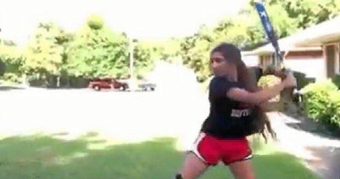 (Vídeo) Bateando con estilo