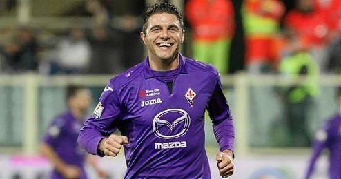 Joaquín, durante su etapa en la Fiorentina.