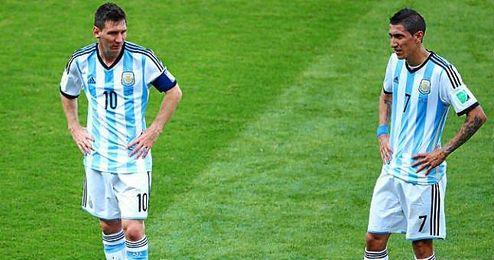 """""""La decisión es de Messi""""."""