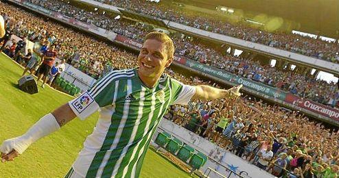 Joaquín, ante más de 19.000 espectadores.