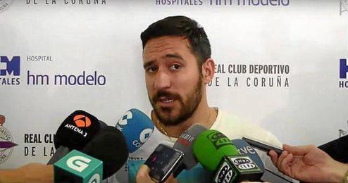 Primeras declaraciones de Jonás Guitiérrez como deportivista.