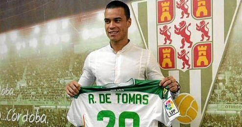 De Tomás sabe que el Córdoba ha hecho una apuesta con su llegada al club.