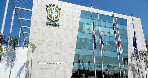 Imagen del edificio de la CBF, donde se produjo el asalto.