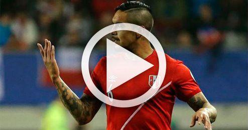 Vargas, titular en el empate entre Colombia y Perú (1-1)