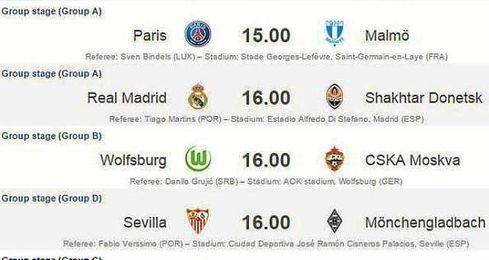 El Sevilla se enfrenta al Mönchengladbach a las 16:00 horas en la Ciudad Deportiva.