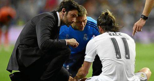 Bale fue el primero en lesionarse.