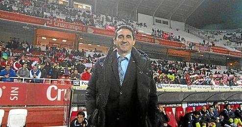 Manolo Jiménez, en su etapa como técnico del Sevilla.