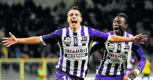 Ben Yedder no está feliz en el Toulouse.