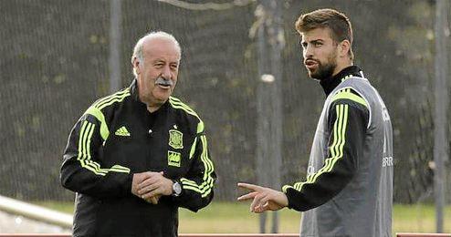 """""""Casillas está en una situación nueva, el entrenador habla muy bien de él""""."""
