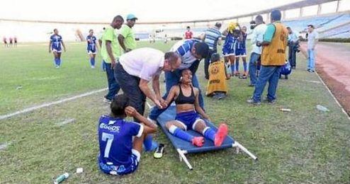 """Suspendieron el partido por el """"número insuficiente de deportistas""""."""