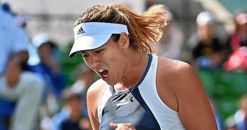 En cuartos de final se ver� las caras con la vencedora del choque entre la francesa Kristina Mladenovic y la eslovaca Anna Karolina Schmiedlova.