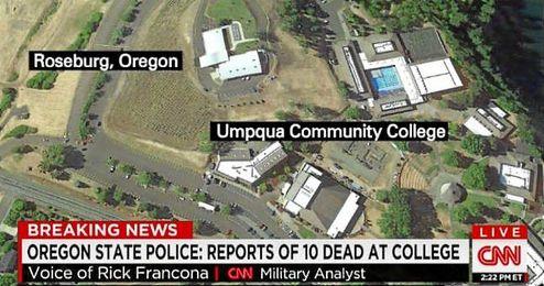 Imagen de la zona facilitado por la CNN.