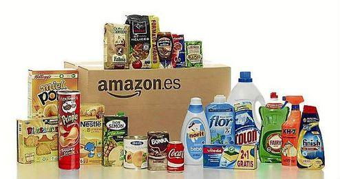 Amazon se adentra en el mundo de la alimentaci�n y la limpieza del hogar.