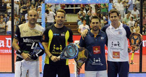 Paquito Navarro y Matías Díaz ganaron en cuartos.