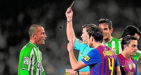 Iglesias Villanueva expulsa a Mario en la 09/10.