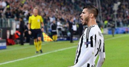 Morata, como ante el Sevilla, marc� para la Juventus.