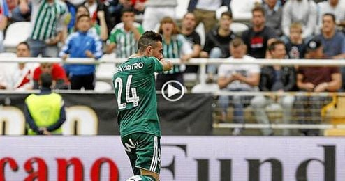 Rubén no faltó a su cita con el gol.