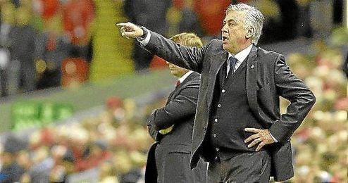 Ancelotti es uno de los favoritos para el cuadro 'red'.