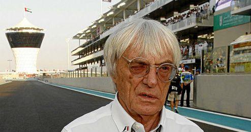 Ecclestone, patrón de la Fórmula Uno.