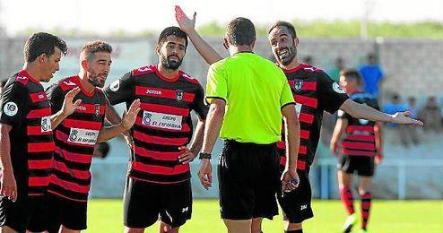 José y Jorge, autores de tres goles.