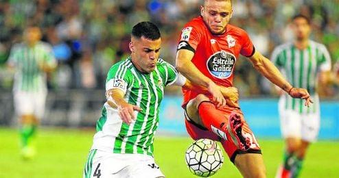 Bruno es, junto a Rubén Castro y Antonio Adán, el único futbolista que lo ha jugado todo.