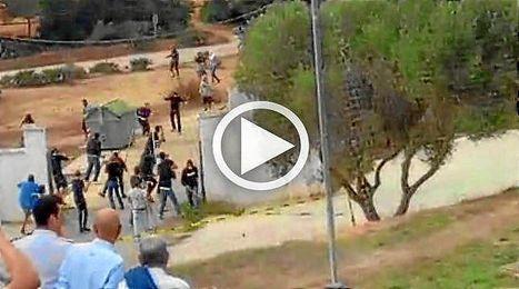 La pelea se produjo en El Rosal (Puerto Real).