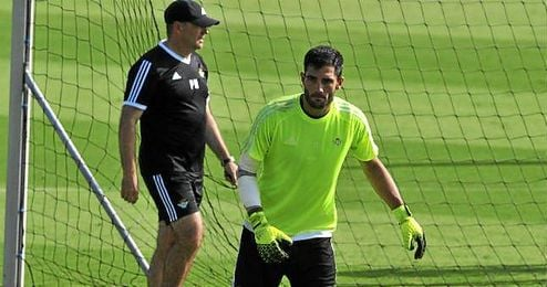 "Adán considera a Mel ""el técnico ideal"" para el club."