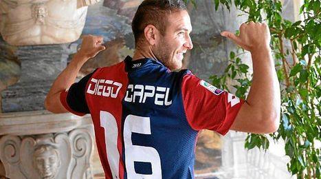 Diego Capel trata de relanzar su carrera en Italia.