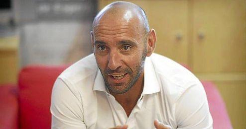 Monchi, durante una entrevista a ESTADIO Deportivo.