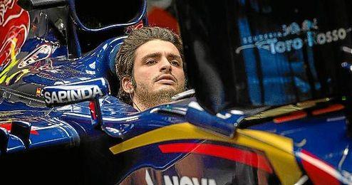Carlos Sainz estará a bordo de su monoplaza en el GP de Rusia.
