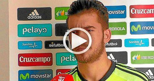 """Dani Ceballos: """"Soy feliz jugando muchos partidos en el Betis"""""""